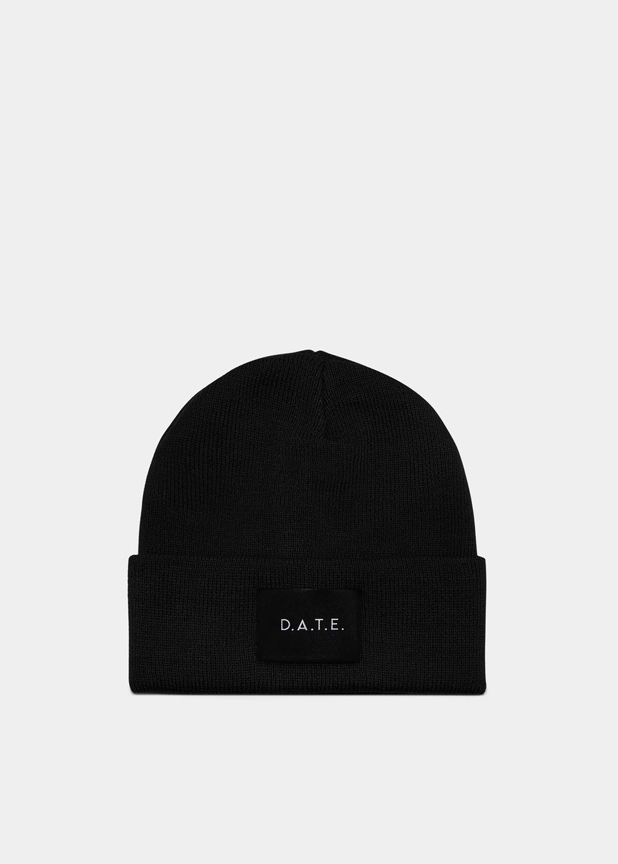 D.A.T.E.: HAT COLORED BLACK