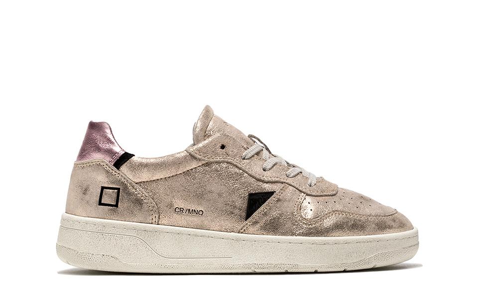 COURT MONO PLATINUM | D.A.T.E. Sneakers