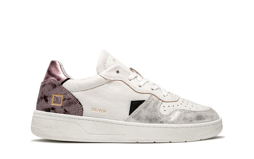 COURT POP PYTHON | D.A.T.E. Sneakers