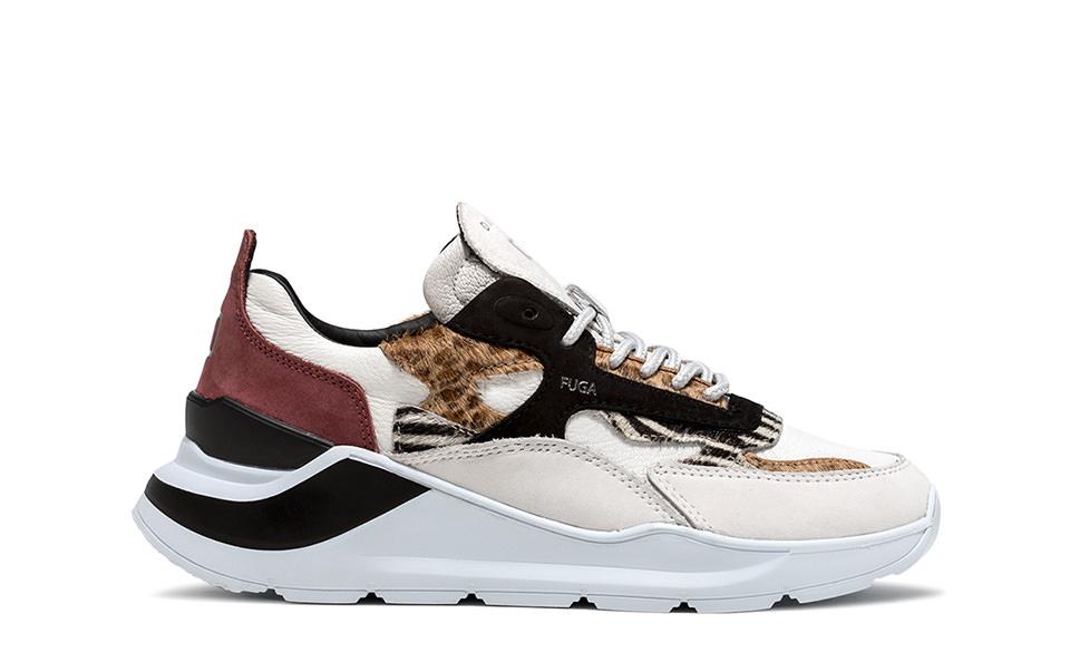 FUGA ANIMALIER WILD | D.A.T.E. Sneakers