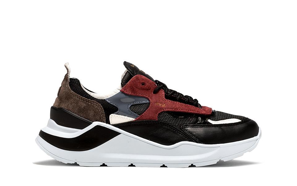 FUGA MESH DARK GRAY | D.A.T.E. Sneakers
