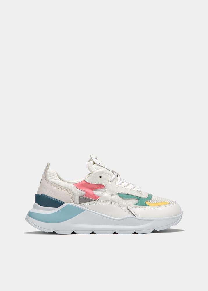 FUGA NETKI WHITE | D.A.T.E. Sneakers