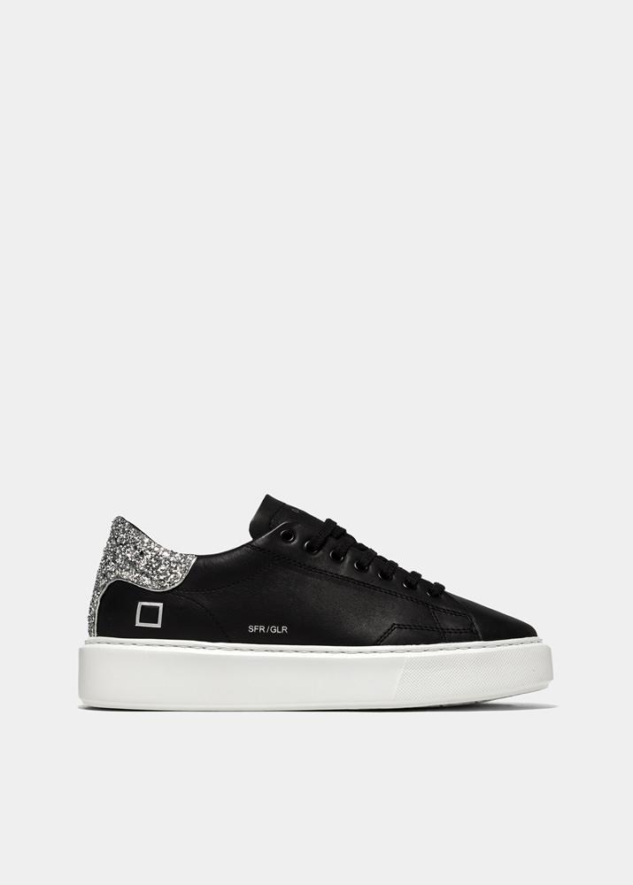 GLITTER BLACK | D.A.T.E. Sneakers
