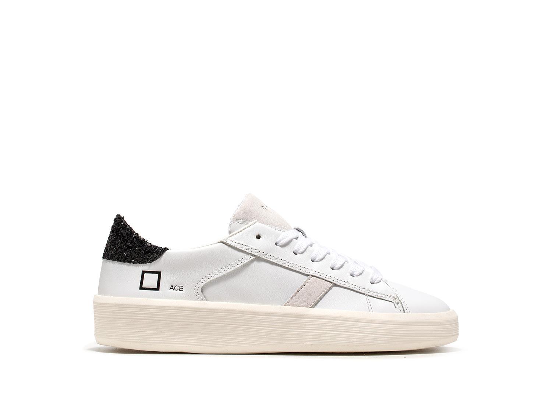 D.A.T.E. Sneakers ACE GLITTER BLACK